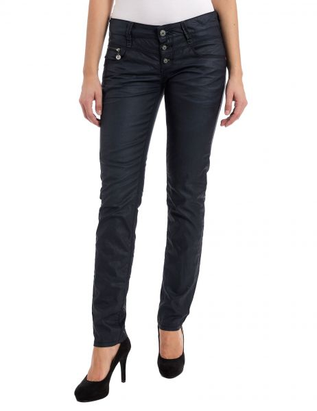 Timezone, Damen Jeans New Kairina TZ, coated black
