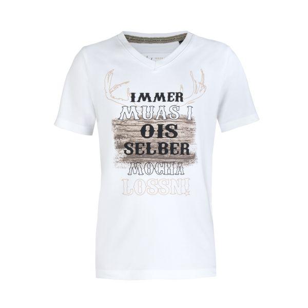 MarJo, Kinder T-Shirt Uros, weiß