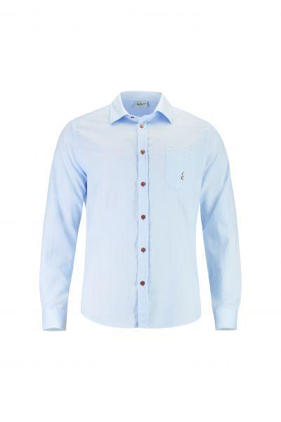 Hemd Bodo langarm, blau