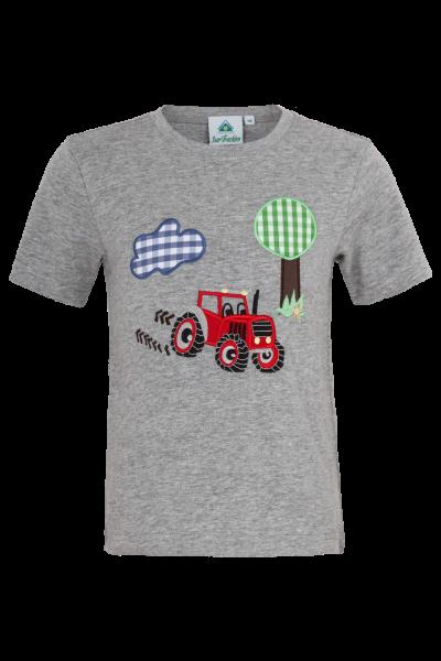 T-Shirt Traktor, grau