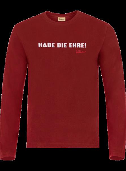 T-Shirt Habe die Ehre, rot