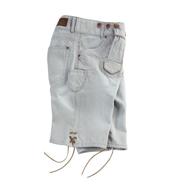 MarJo, Herren Jeans Short, grau