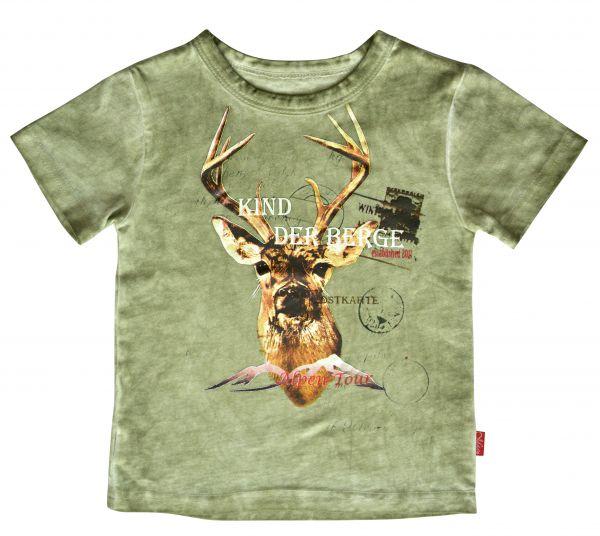 T-Shirt Der Berg, grün