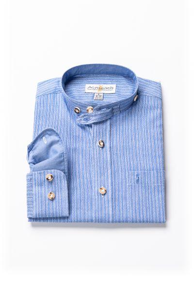 Kinder Hemd Luis langarm, blau