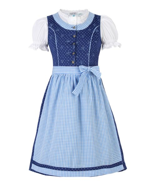 Dirndl Magdalena, blau