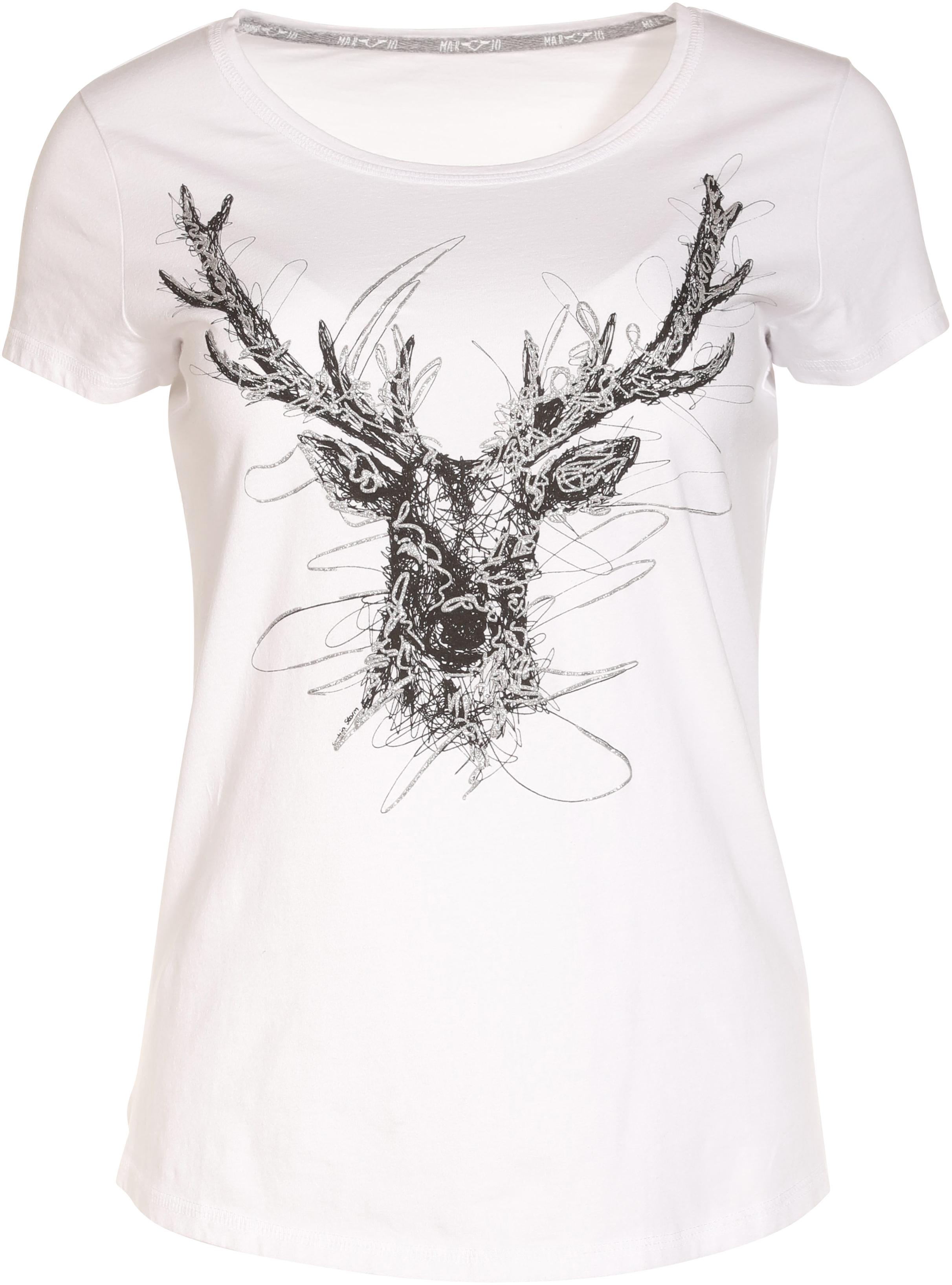 TRIXI weiß Marjo Trachten T-Shirt W33