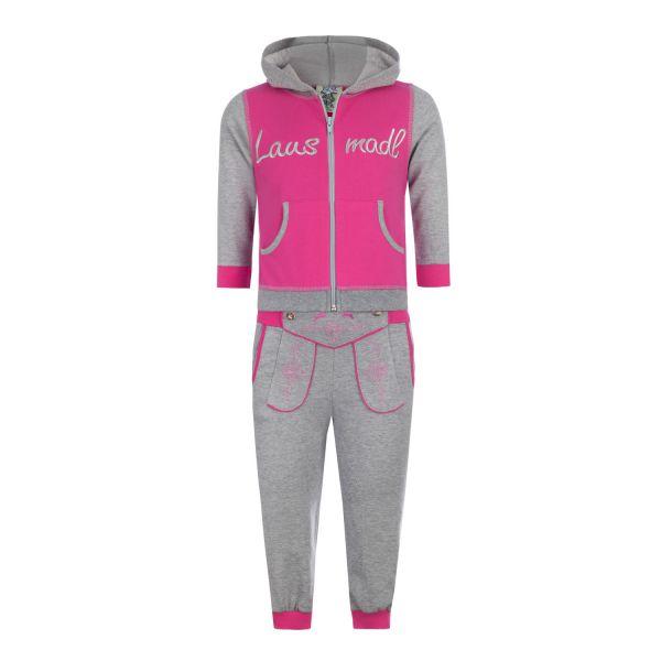 "Isar-Trachten, Kinder Jogger ""Lausdirndl"", pink"