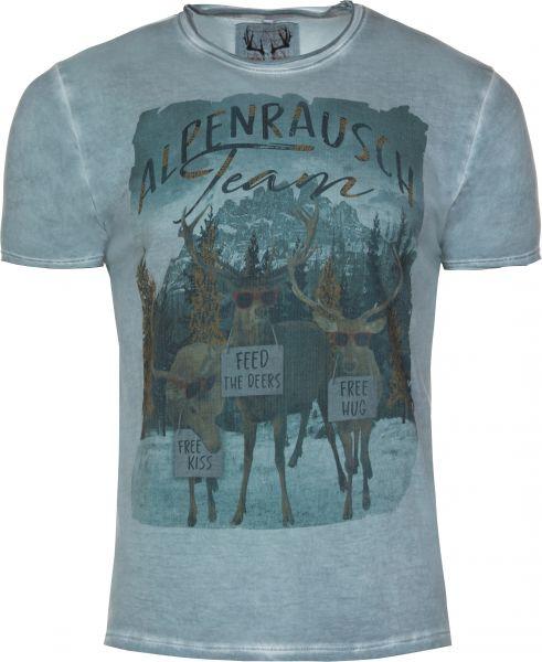 T-Shirt Finn, blau