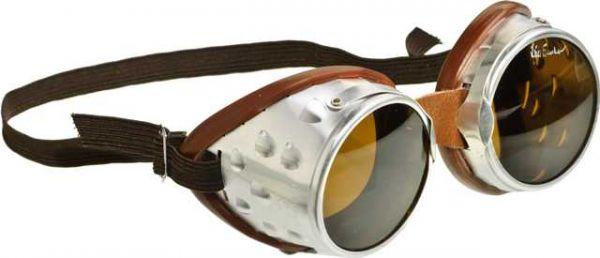 Gletscherbrille, silber