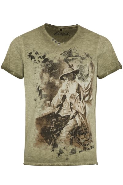 T-Shirt Theo, oliv