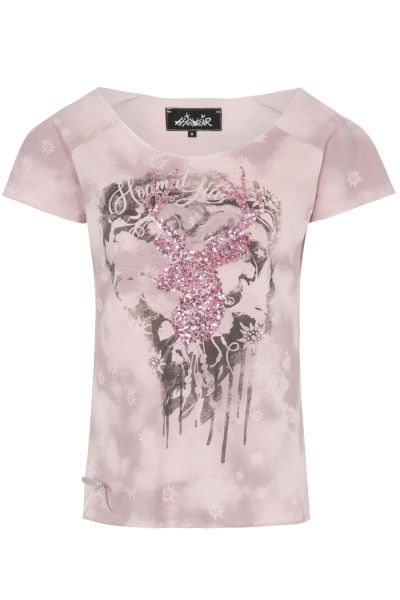 T-Shirt Lilly, rose