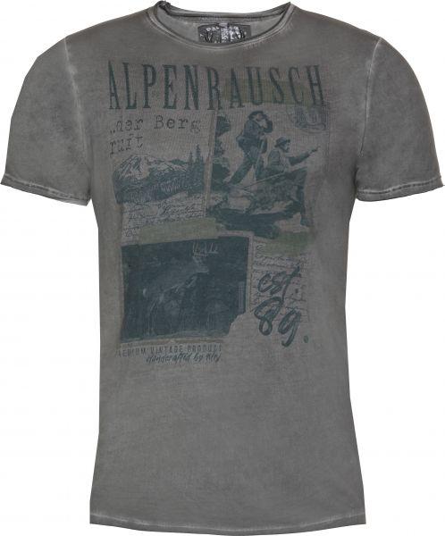 T-Shirt Quentin, grau