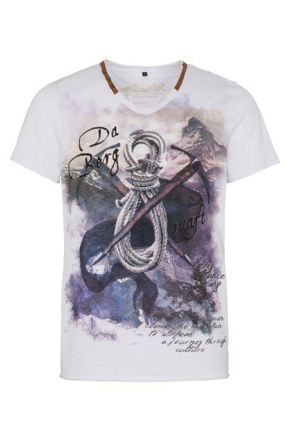 T-Shirt Emilo, weiß
