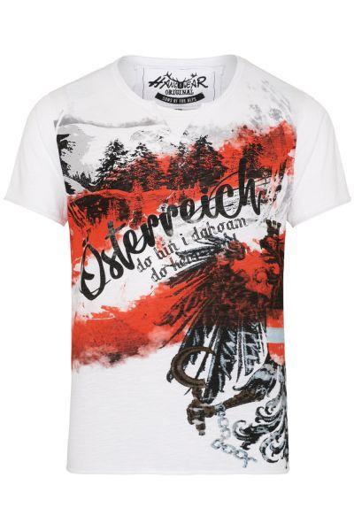 T-Shirt Siggi Austria, weiß